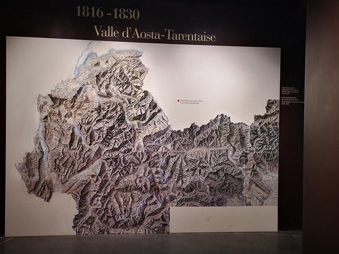 Exposition permanente de l'hospice sur la valle d'Aosta-Tarentaise