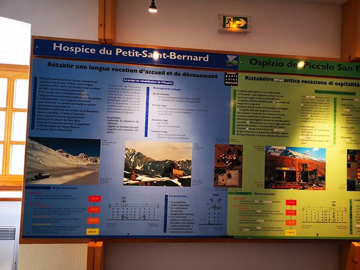 Exposition permanente sur l'hospice du petit saint bernard