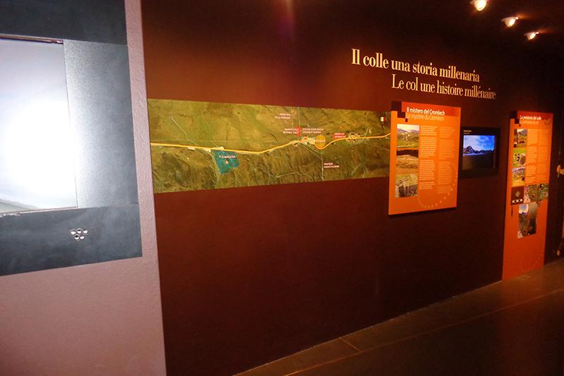 L'espace muséographique histoire du col et de l'hospice