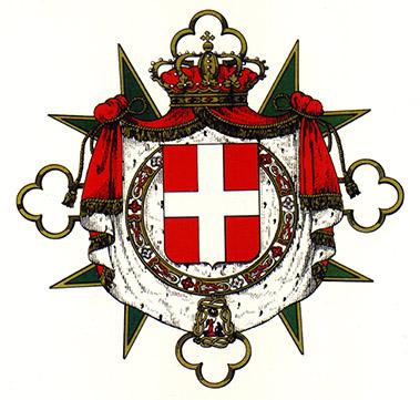 Croix de l'ordre de St Maurice et St Lazare