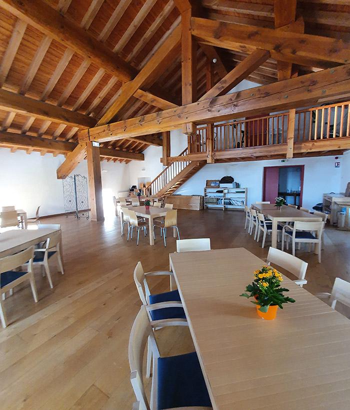 salle européenne 100 places à louer à l'hospice du petit saint bernard